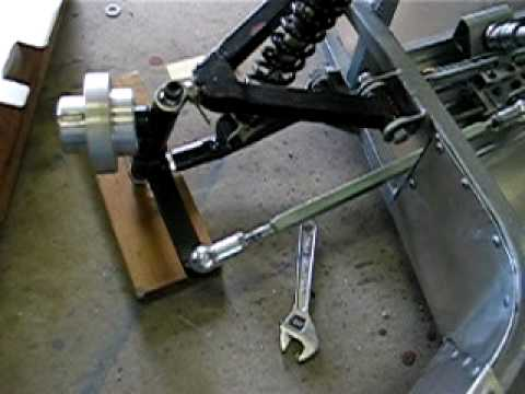 go kart steering design   youtube