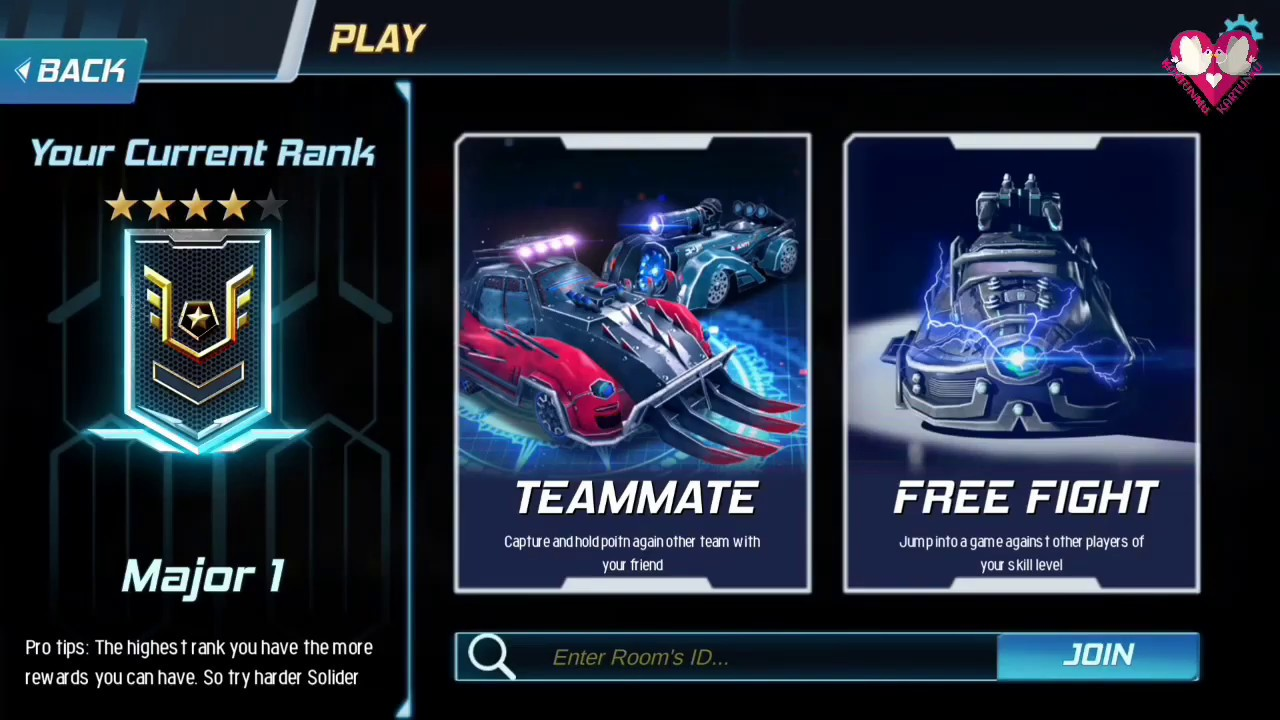 TOP Global Rank - Car Alien 3v3 Gameplay Android/iOS