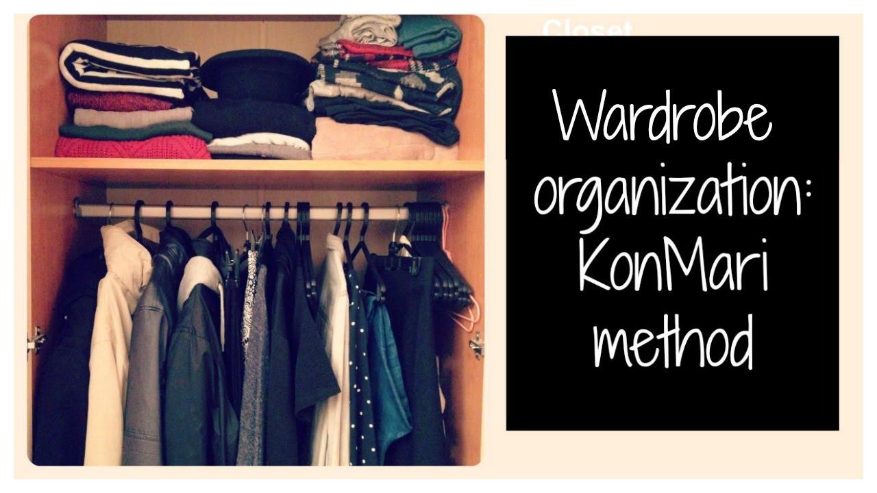 Wardrobe Tour Organization Konmari Method Minimalist