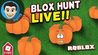 Roblox Halloween Event BloxHunt LIVE! DigDugPlays Game Night Live : Ep 35: Roblox Gameplay LIVE!!