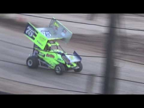 Paradise Speedway Brandyn Griffin 7/8/17 feature race