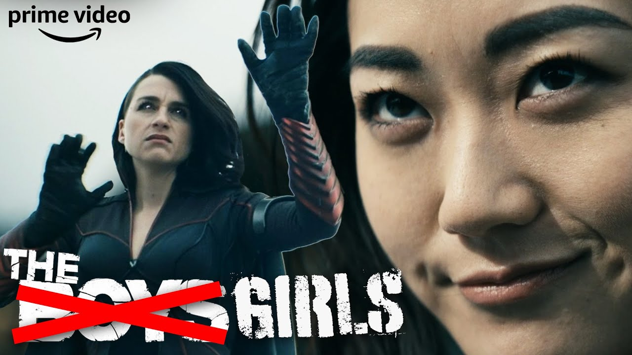 Download Girls Get It Done: Stormfront vs The Girls Fight Scene   The Boys   Prime Video
