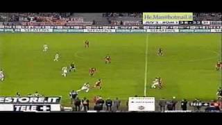 6 Maggio 2001 - Juve Roma 2-2 immagini da Tele+ nero