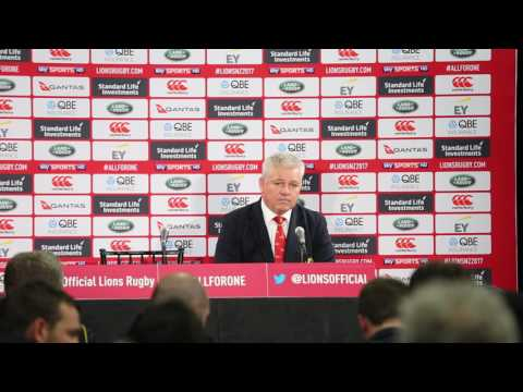 LIONS vs HURRICANES Postmatch Review Warren GATLAND