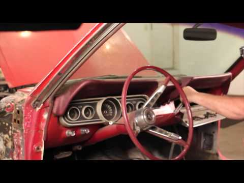 How To Remove Dash On 1966 Mustang