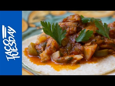 Taco Tuesday with Rick Bayless: Bacalao (Salt Cod) with Tomatoes and Olives