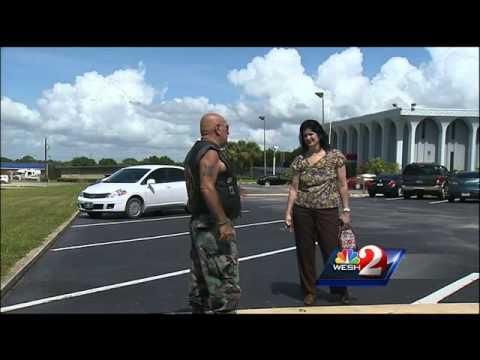 Marine Puts Stop to Bank Robbery!