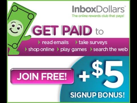 شرح الطريقة الصحيحة  للتسجيل فى  inboxdollars لكسب اكثر من  5$ دولارات يوميا 2017