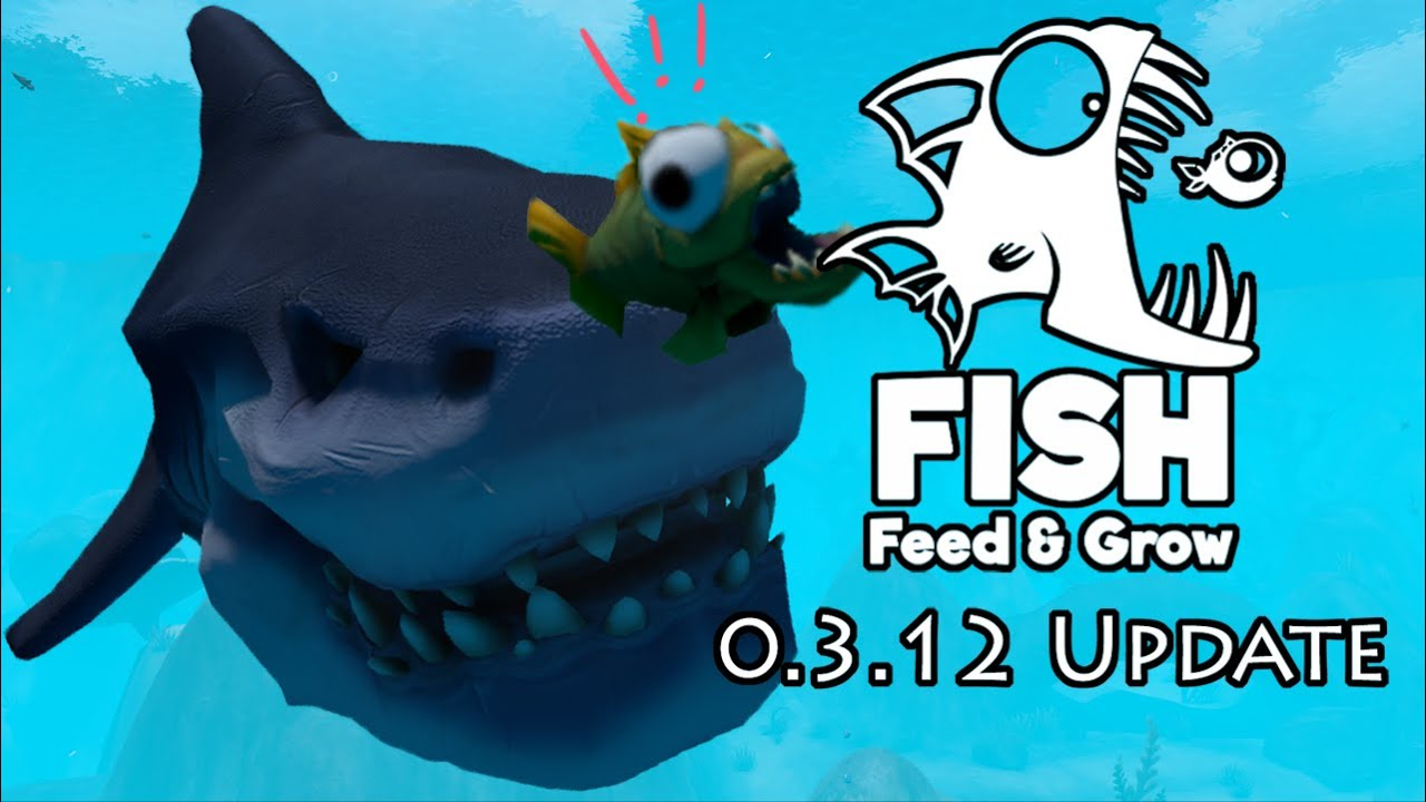 Sharks feed and grow fish patch 0 gameplay and for Fish eat and grow