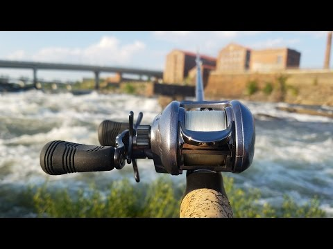 Fishing with a Baitcaster for the First Time! - Vlog (Bass Fishing) Powered by LTB