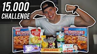 15,000 CALORIE CHALLENGE!