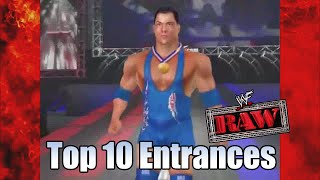 WWF Raw - Top 10 Entrances