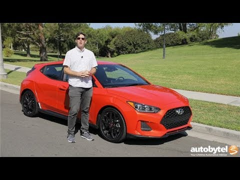 2019 Hyundai Veloster Turbo R Spec M6 Test Drive Video Review