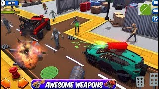 Zombie Squad Crash Racing Pickup - Android Gameplay FHD
