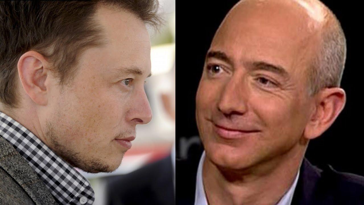 Spacex Landing Launches Billionaire Twitter War For Jeff Bezos
