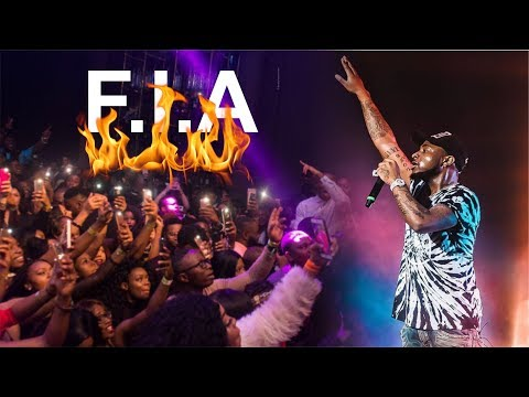 DAVIDO - FIA GOT FANS MAD @ 30 BILLION CONCERT, LONDON 2018