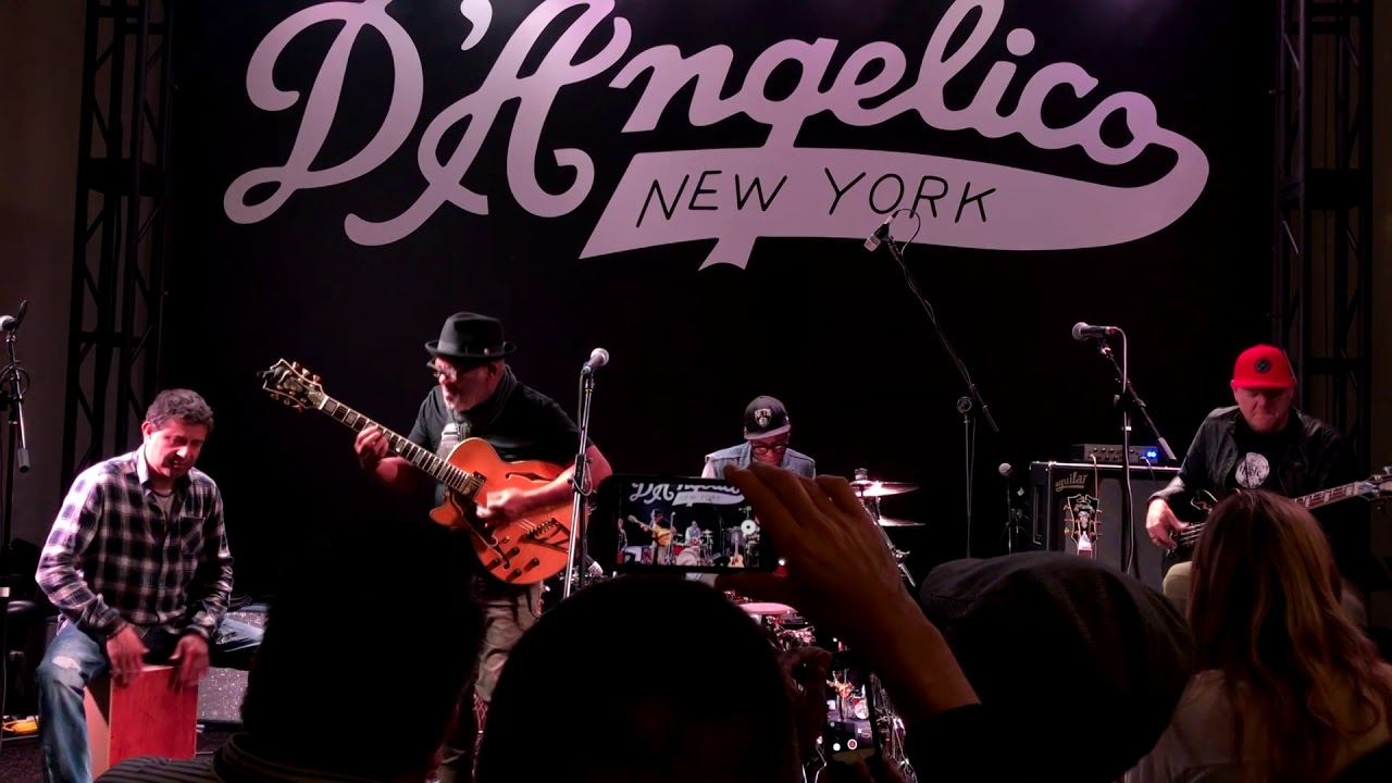 Jonathan Butler | Living My Dream @ D'Angelico NAMM | (Smooth Jazz Family)