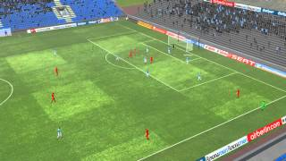 MSV Duisburg vs 1.FC Union Berlin - Terodde Goal 76 minutes