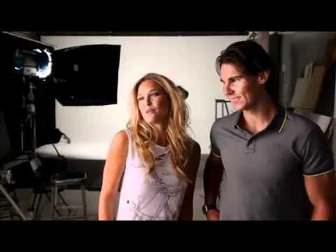 Rafael Nadal and Bar Refaeli - Sports Illustrated Photoshoot