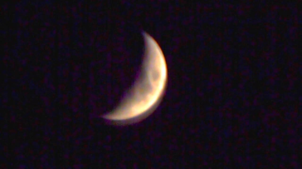 Растущая луна в америке фото