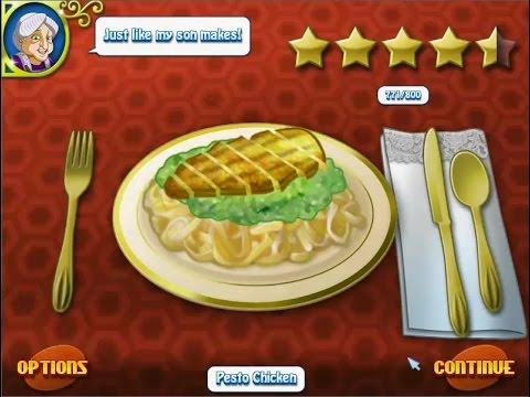 เกมส์ทำอาหาร พาสต้าไก่ซอสเพสโต้ - Pesto Chicken Pasta Cooking Game 페스토 치킨,ペストチキン