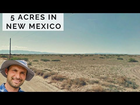 New Mexico 5 acres Land With Electricity