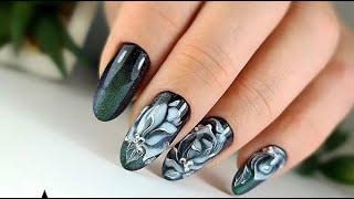 Маникюр 2021 Новинки тренды фото самый модный дизайн маникюра Красивый дизайн ногтей