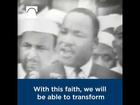 """I Have a Dream"" 