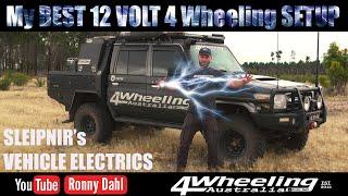 BEST 12 volt 4 Wheeling setup yet, plus advice & reviews