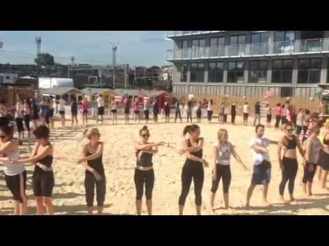 Creative Yoga with Richard Brook at Camden Roundhouse Beach in Association with Timeout