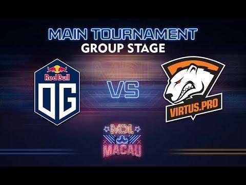 OG vs Virtus.pro - MDL Macau 2017: Group Stage - @GoDz @WinteR
