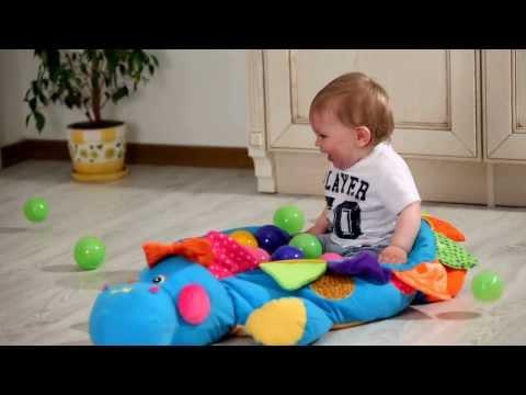 сшить бассейн для шариков своими руками