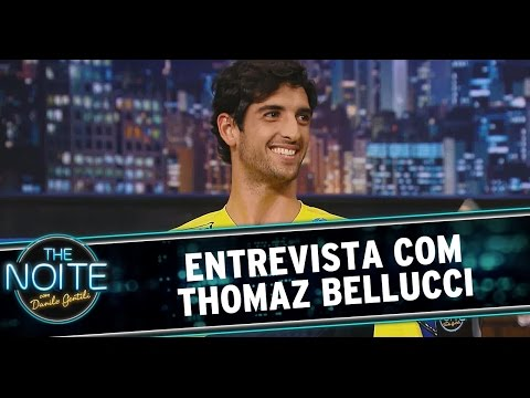 The Noite (16/09/14) - Danilo recebe o tenista Thomaz Bellucci