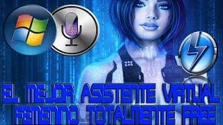 Como Descargar  El Mejor Asistente Virtual Femenino En Español Para Windows Vista/7/8