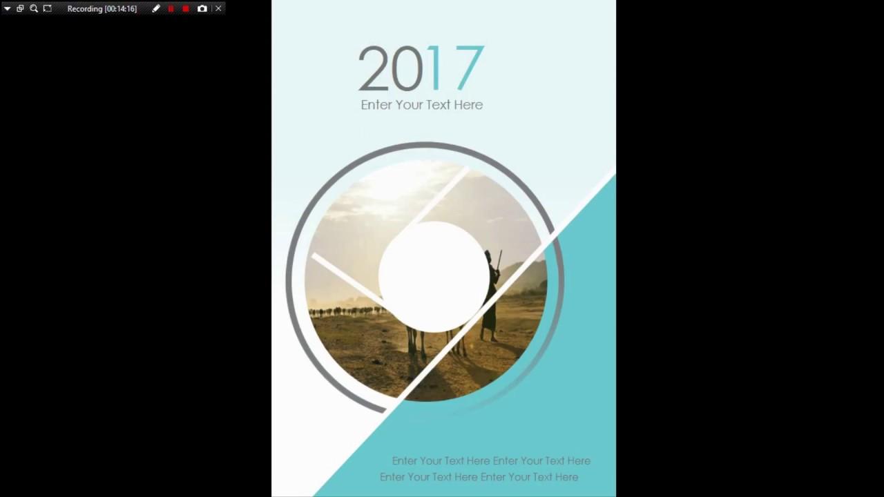 Thiết kế Brochure bằng Powerpoint | Design Brochure Template by Powerpoint