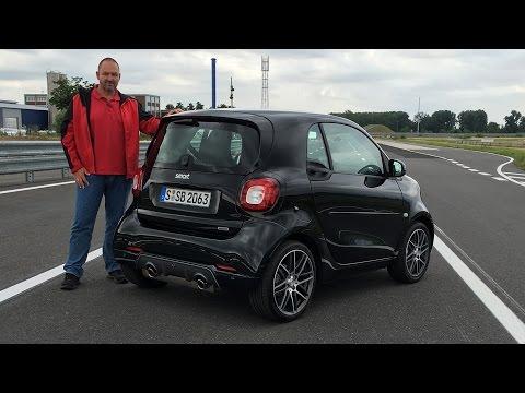 smart Brabus fortwo 2016 im Test - Fahrbericht & Review