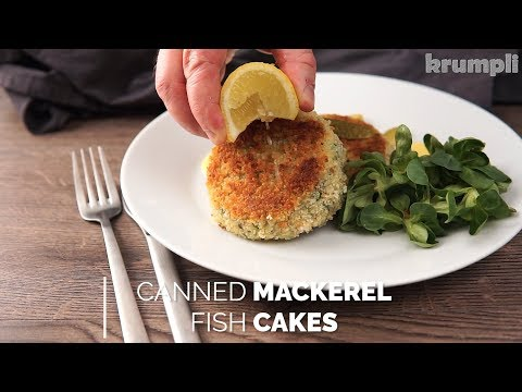 Canned Mackerel Fish Cake