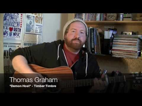 """""""Demon Host"""" cover and lesson by Thomas Graham (written by Timber Timbre)"""