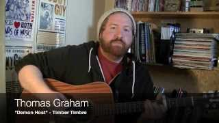 """Demon Host"" cover and lesson by Thomas Graham (written by Timber Timbre)"
