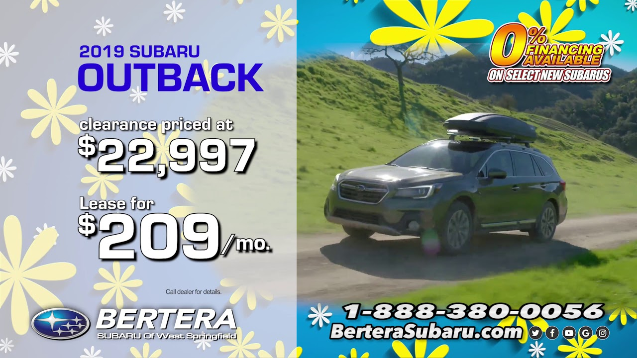 Bertera Subaru West Springfield >> August Sales Event Bertera Subaru Of West Springfield
