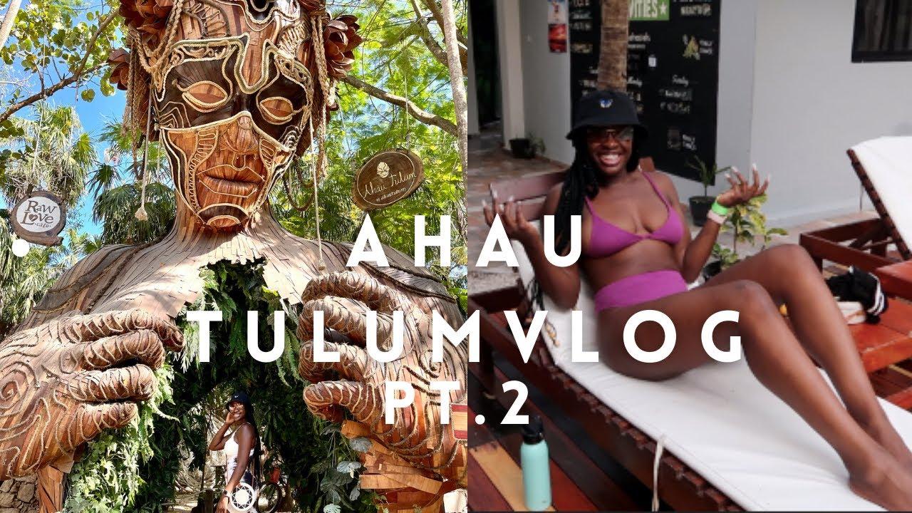 AHAU TULUM VLOG | Mexico 2021 | Hostel Lifestyle | Solo traveler pt. 2 | Everything Teash