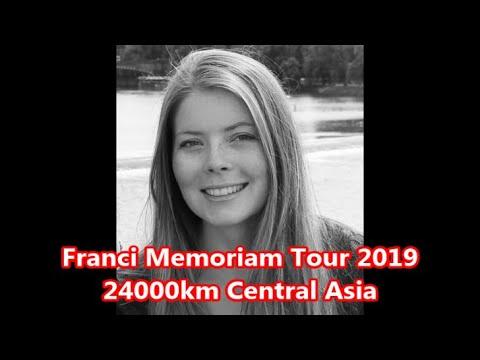 Franci Memoriam Tour 2019, Motorradtour 24.000km Zentralasien