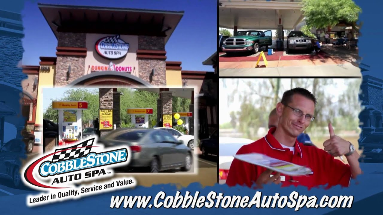Cobblestone Auto Spa Free Gas Free Washes