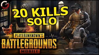20 KILL SOLO WIN IN PUBG Mobile! | PlayerUnknown's Battlegrounds iOS/Android Gameplay