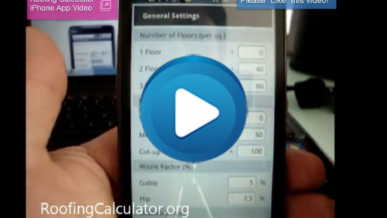 ROOFING CALCULATOR App For Android U0026 IPhone   Estimate Any Roof And Sell  More Jobs!