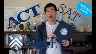 HOW I GOT INTO RICE: Stats (SAT, ACT, GPA, APs etc.)
