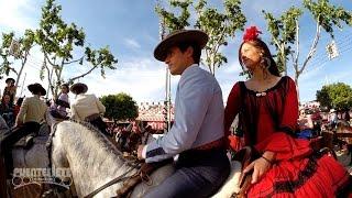 "Feria de Sevilla 2015.- ""El Paseo de Caballos""."