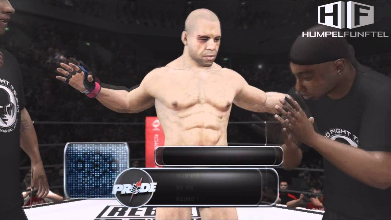 UFC Undisputed 3 - PS3 Gameplay HD (PRIDE and UFC) - YouTube