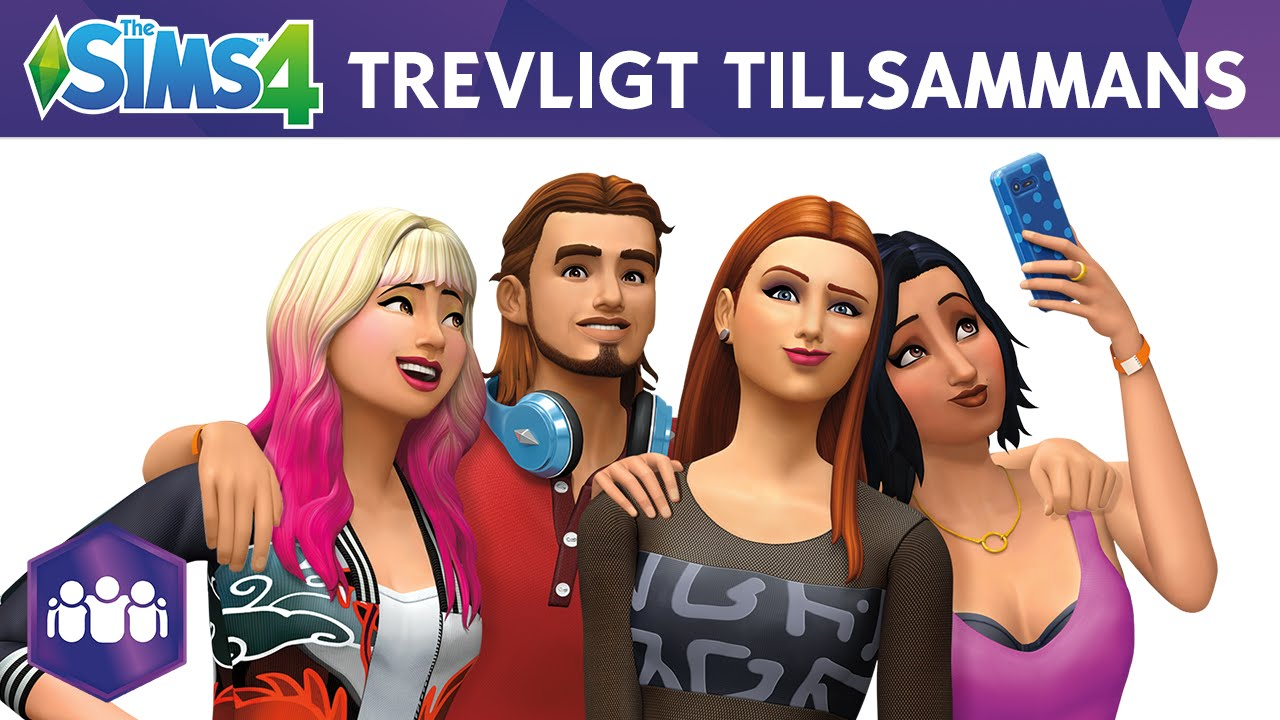 Sims 4 trevligt tillsammans