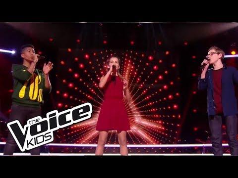 "Maria / Théo / Kelvin - ""Say, say, say"" | The Voice Kids France 2017 | Battle"